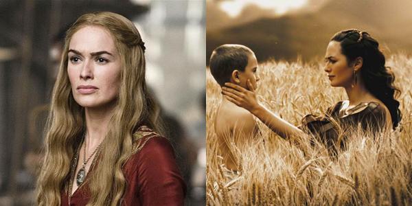 queen gorgo and cersei - photo #9