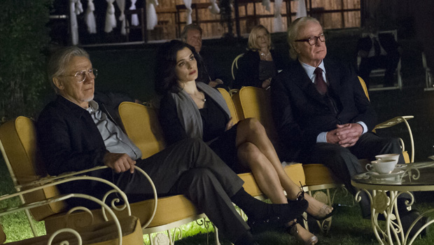 "Harvey Keitel as ""Mick,? Rachel Weisz as ?Lena? and Michael Caine as ?Fred? in YOUTH. Photo by Gianni Fiorito. © 2015 Twentieth Century Fox Film Corporation All Rights Reserved"